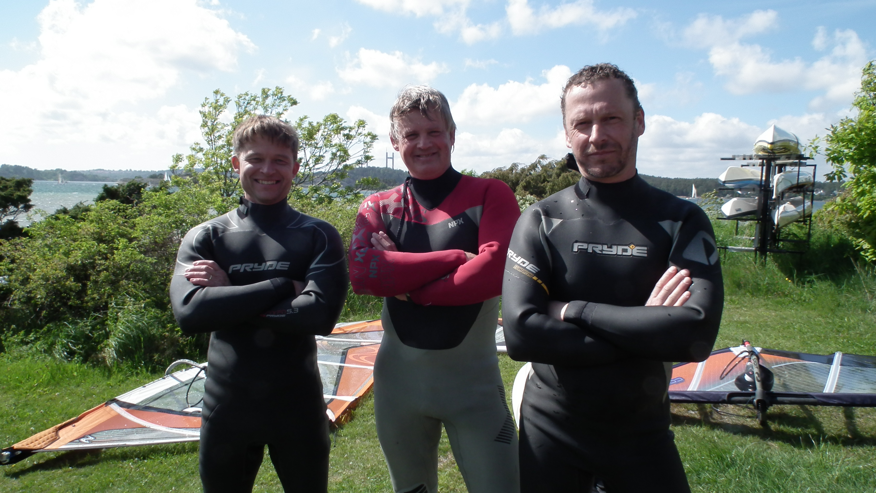 044. 50 taggarna från Wave action. efter en skön session vid Tollenäs